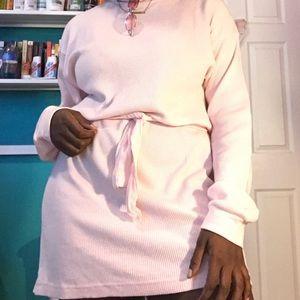 Dresses - Pink Long John Dress
